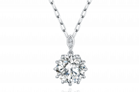 Magnolia Collection 900铂金 钻石项链 项链托:¥9699