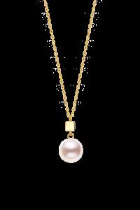 Confetti Collection 18K Single Pearl Necklace ¥4199